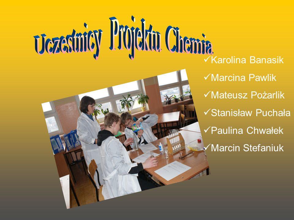 Uczestnicy Projektu Chemia