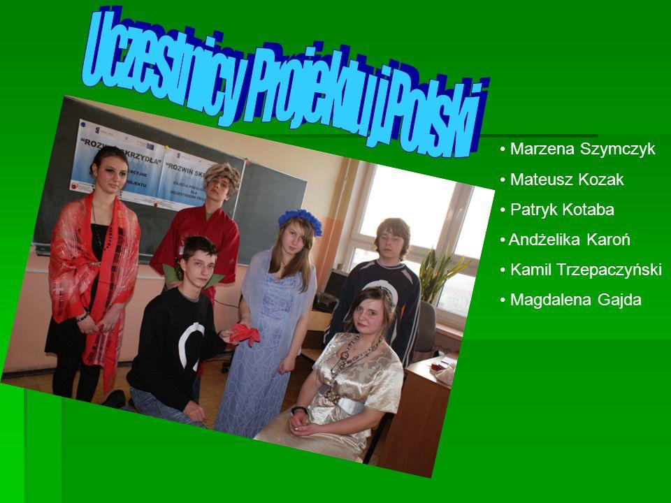 Uczestnicy Projektu j.Polski