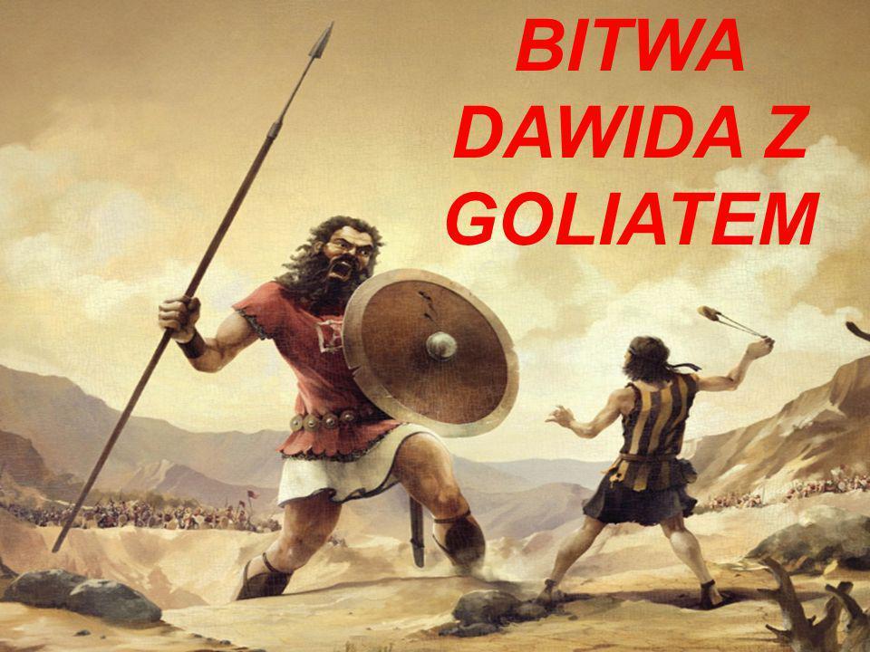 BITWA DAWIDA Z GOLIATEM
