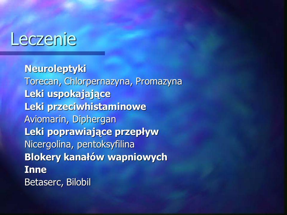 Leczenie Neuroleptyki Torecan, Chlorpernazyna, Promazyna