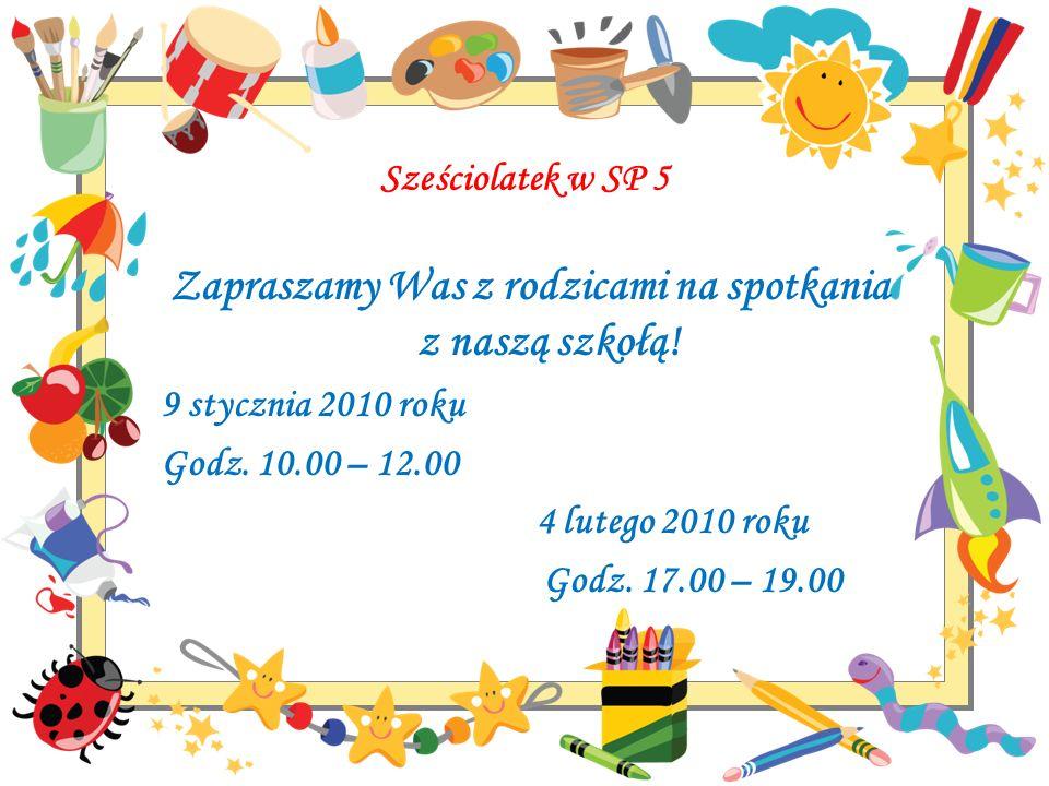 Zapraszamy Was z rodzicami na spotkania z naszą szkołą!