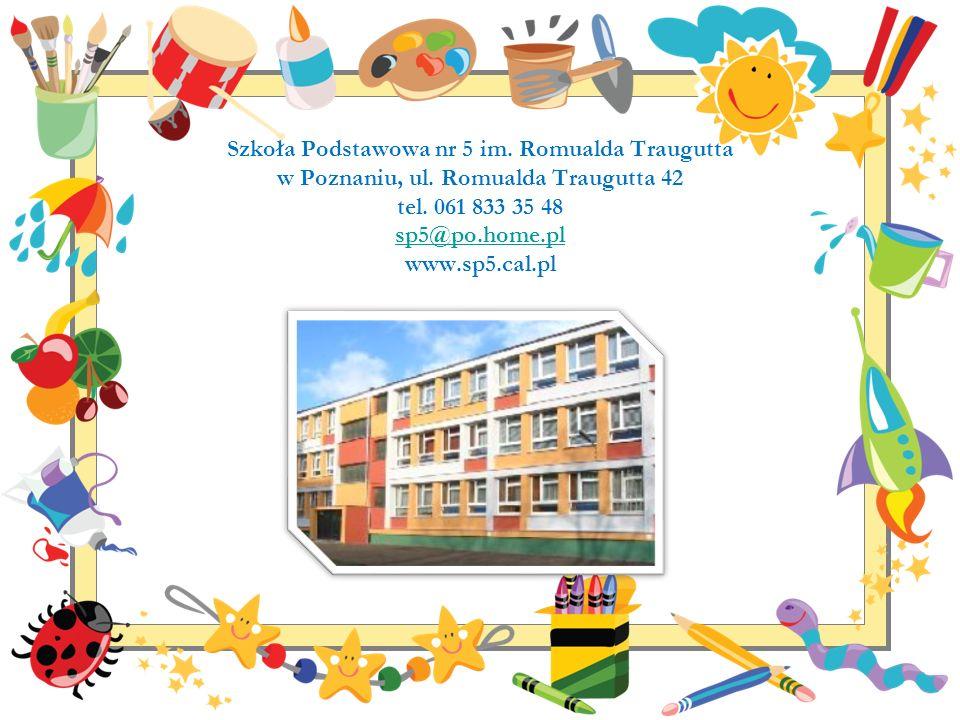 Szkoła Podstawowa nr 5 im. Romualda Traugutta w Poznaniu, ul