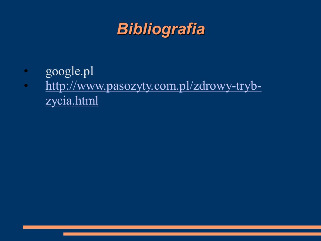 Bibliografia google.pl