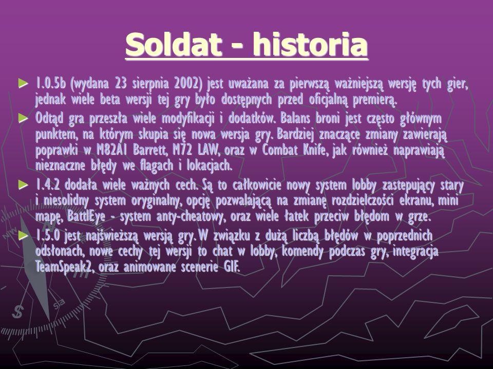 Soldat - historia
