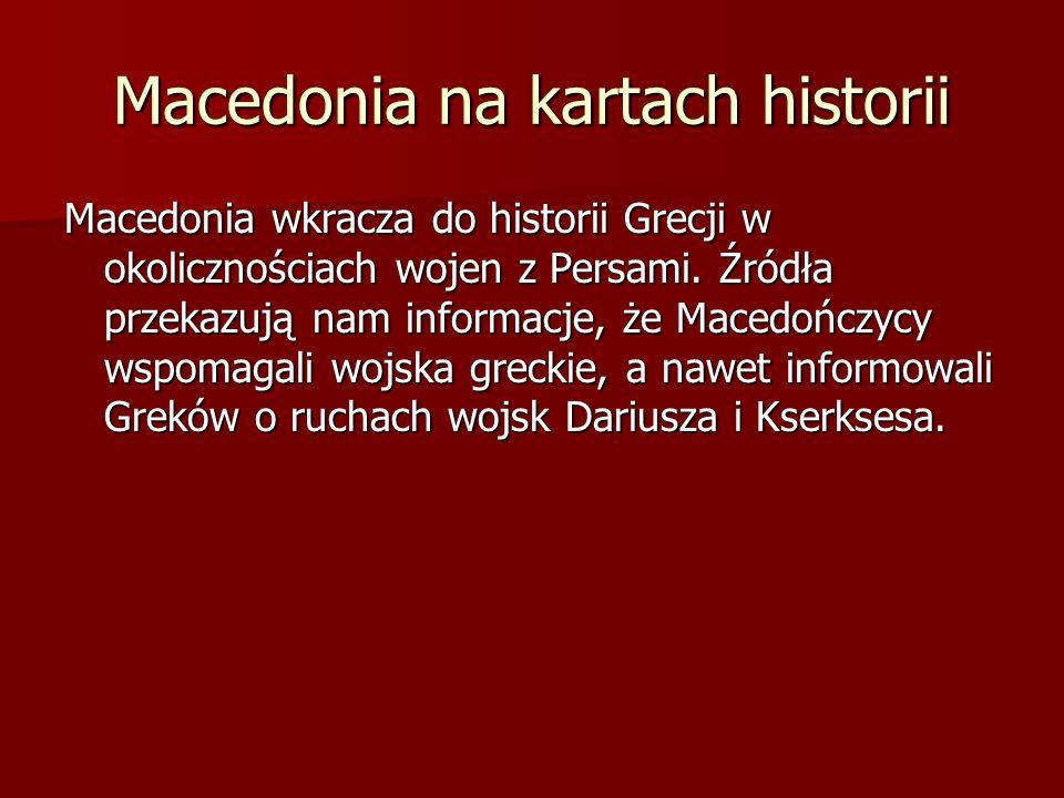 Macedonia na kartach historii
