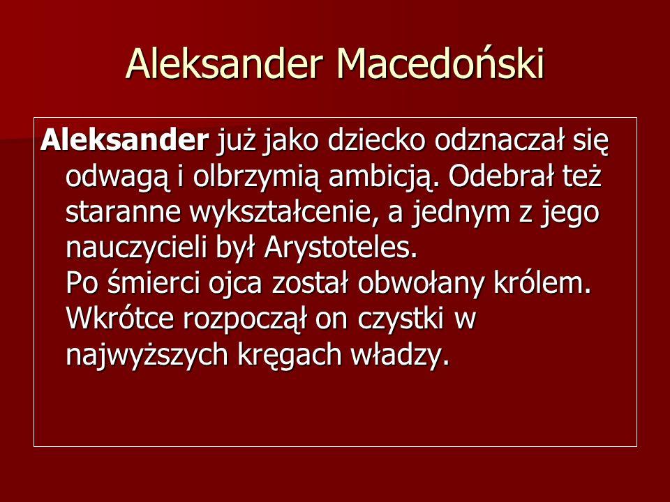 Aleksander Macedoński
