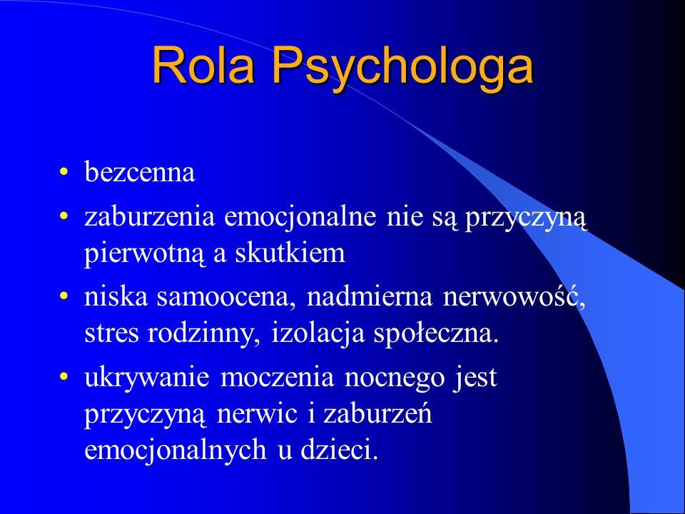 Rola Psychologa bezcenna