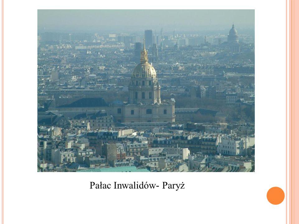 Pałac Inwalidów- Paryż