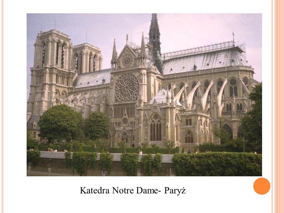 Katedra Notre Dame- Paryż