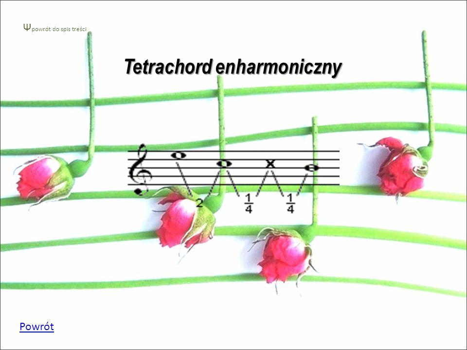 Tetrachord enharmoniczny