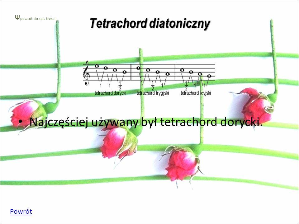 Tetrachord diatoniczny