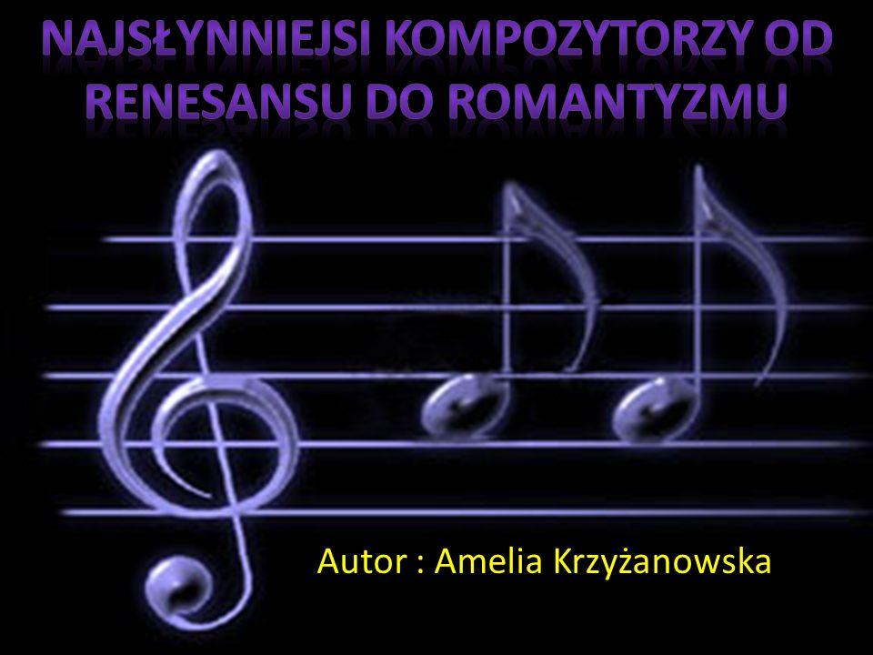 Autor : Amelia Krzyżanowska