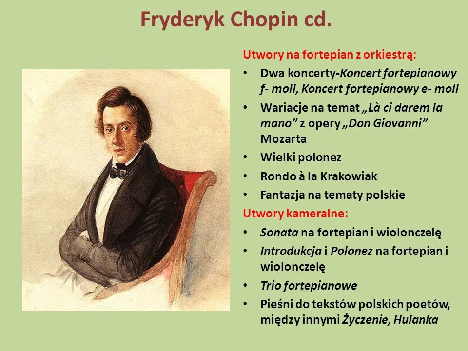 Fryderyk Chopin cd. Utwory na fortepian z orkiestrą: