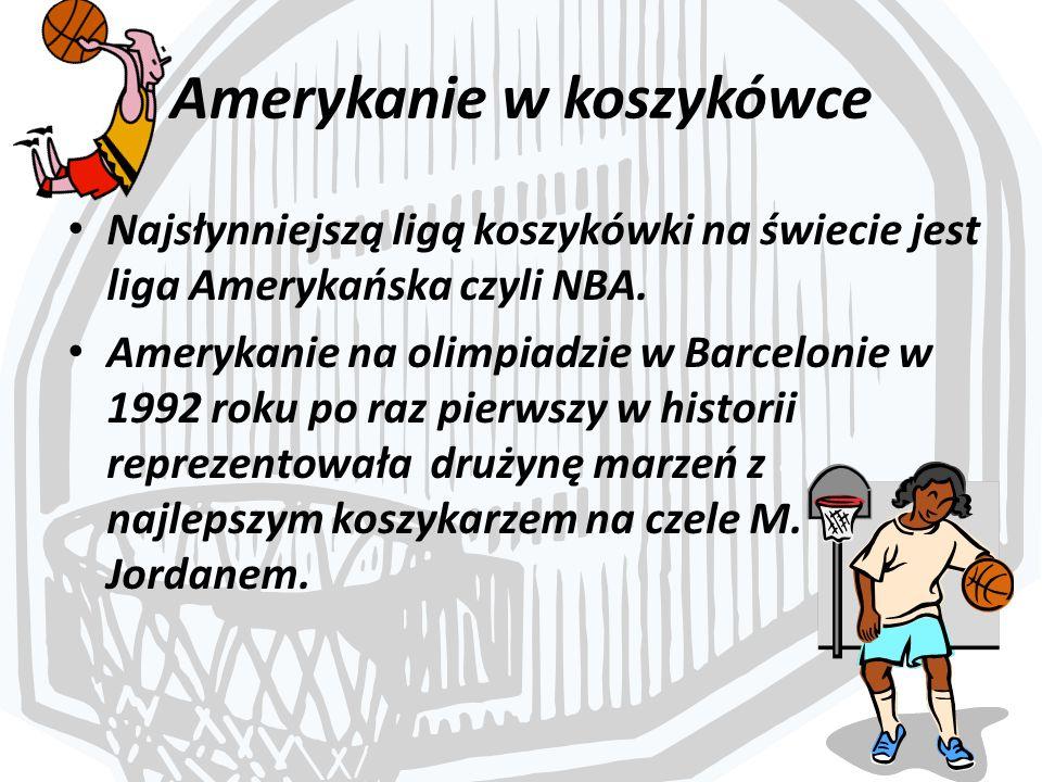 Amerykanie w koszykówce