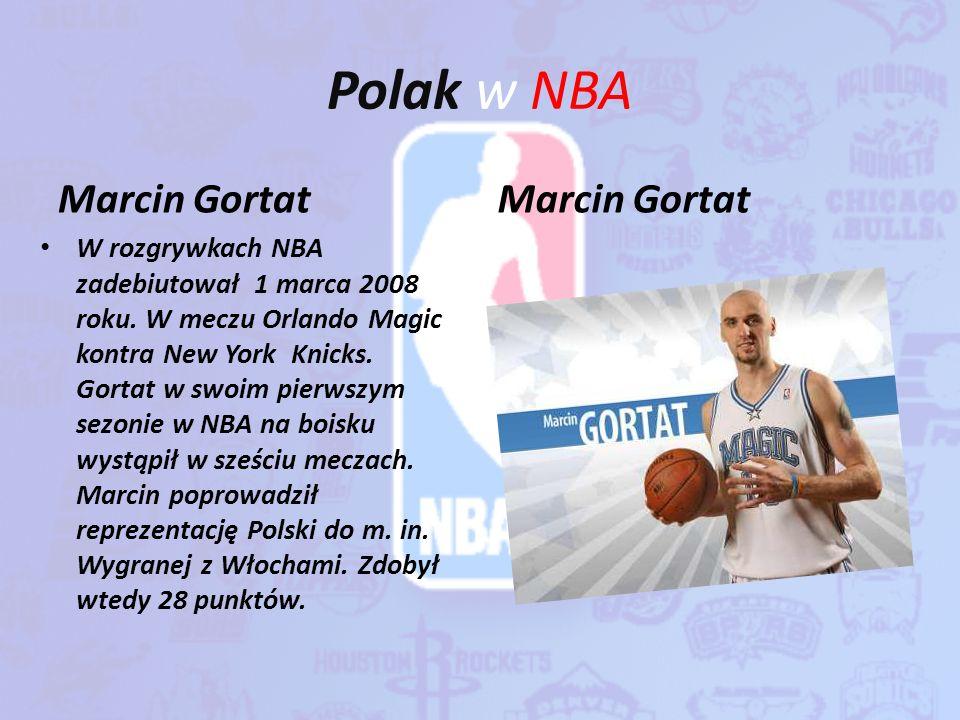 Polak w NBA Marcin Gortat Marcin Gortat