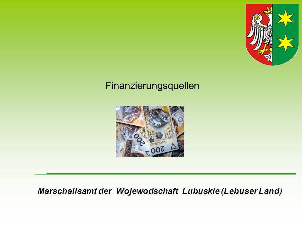 Finanzierungsquellen