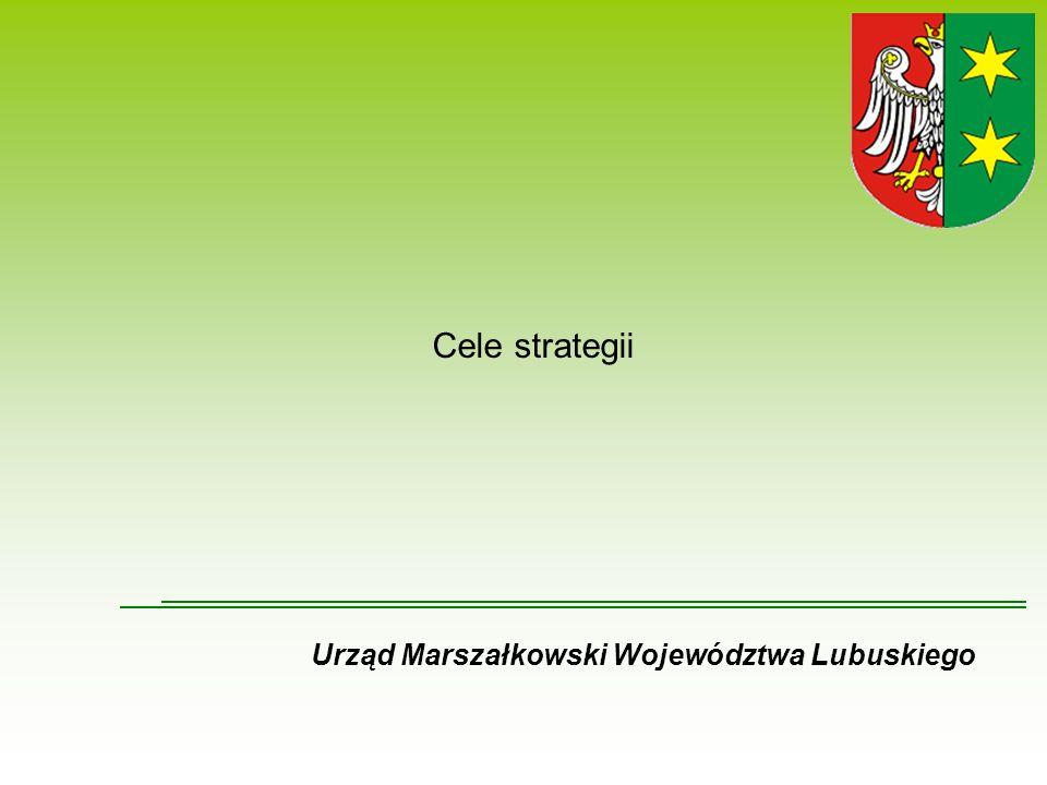 Cele strategii Urząd Marszałkowski Województwa Lubuskiego