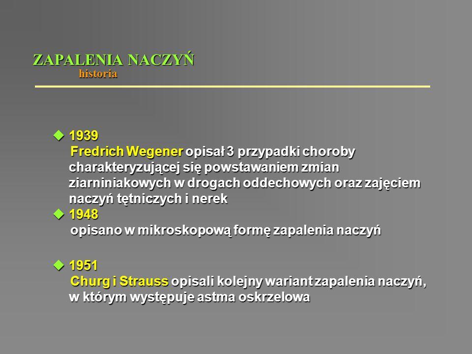ZAPALENIA NACZYŃ historia. 1939.
