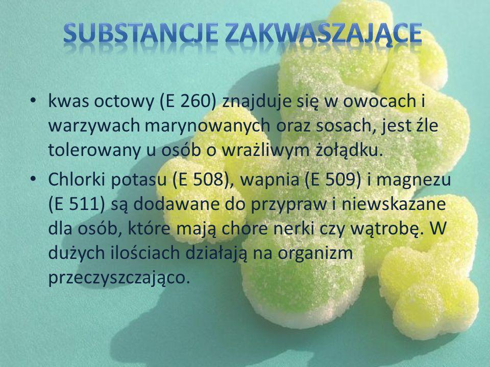 Substancje zakwaszające