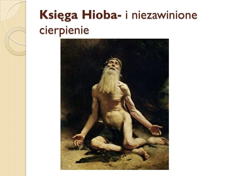 Księga Hioba- i niezawinione cierpienie