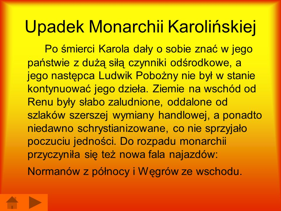 Upadek Monarchii Karolińskiej
