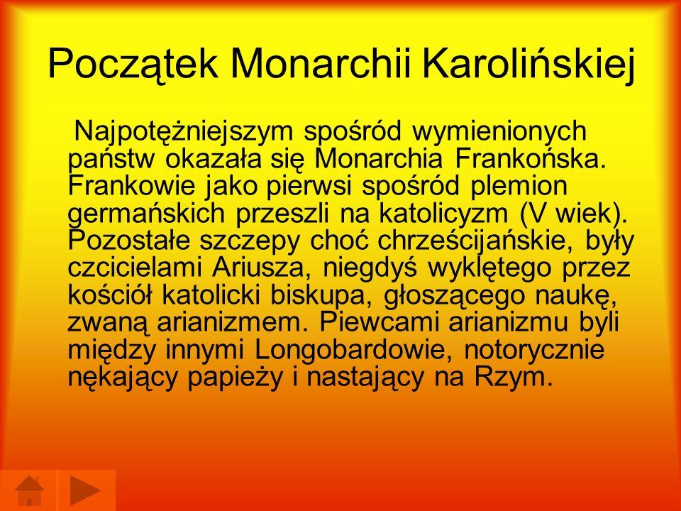 Początek Monarchii Karolińskiej
