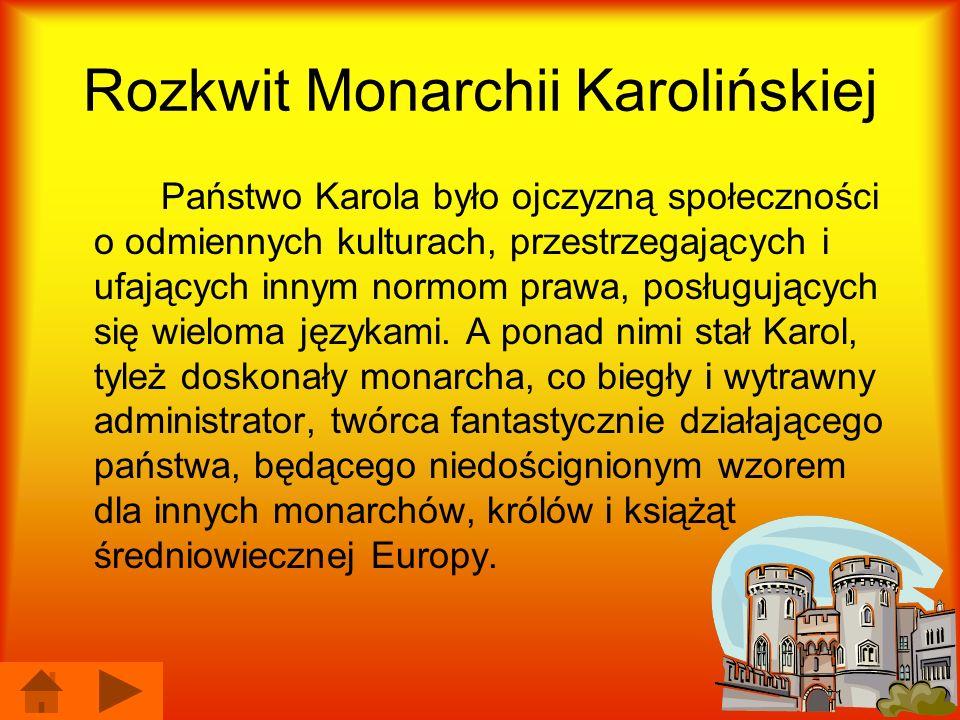 Rozkwit Monarchii Karolińskiej