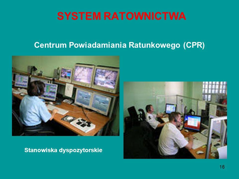 Centrum Powiadamiania Ratunkowego (CPR)