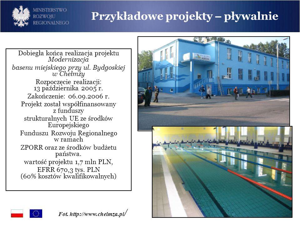 Przykładowe projekty – pływalnie