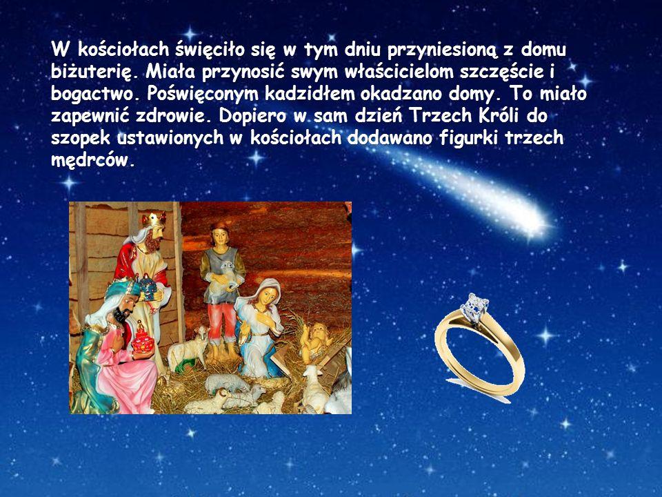 W kościołach święciło się w tym dniu przyniesioną z domu biżuterię