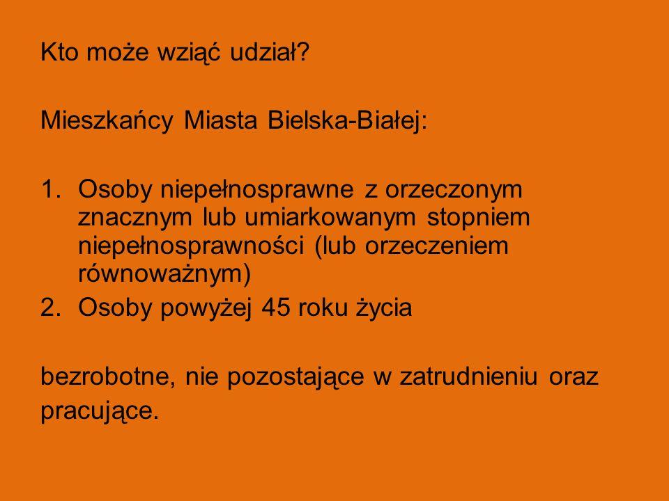 Kto może wziąć udział Mieszkańcy Miasta Bielska-Białej: