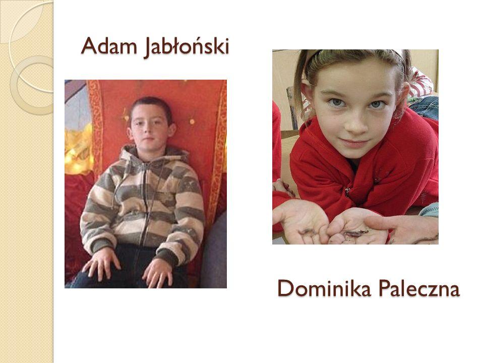 Adam Jabłoński Dominika Paleczna