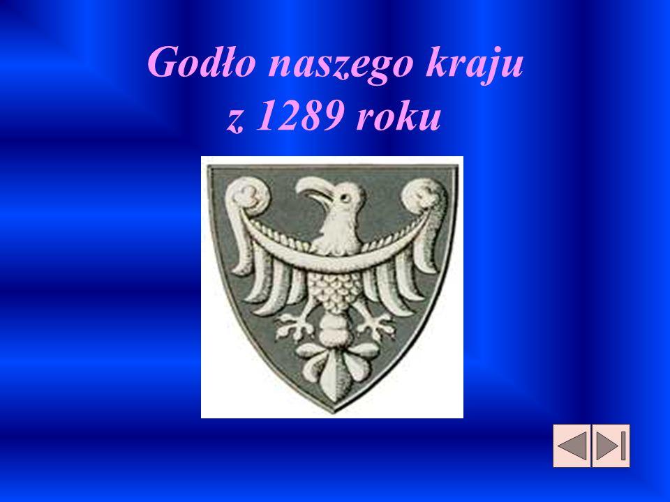Godło naszego kraju z 1289 roku