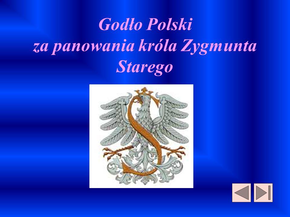 Godło Polski za panowania króla Zygmunta Starego