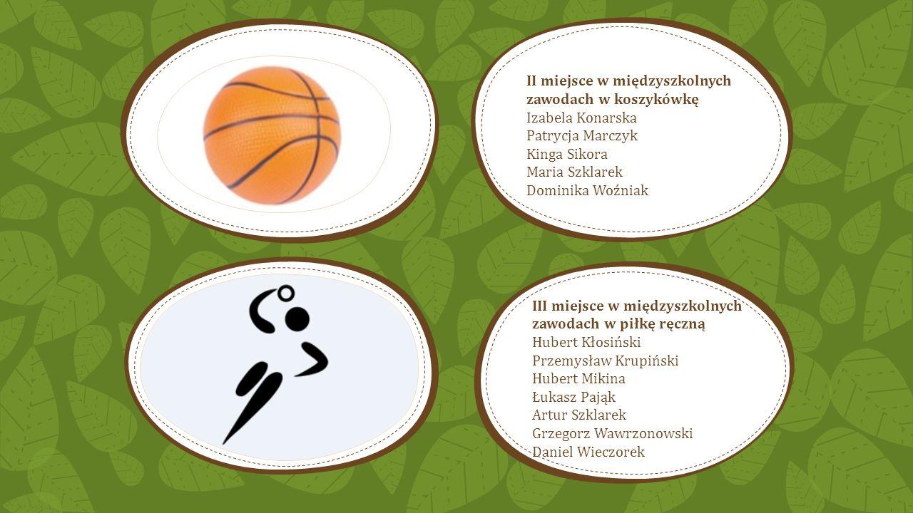 II miejsce w międzyszkolnych zawodach w koszykówkę
