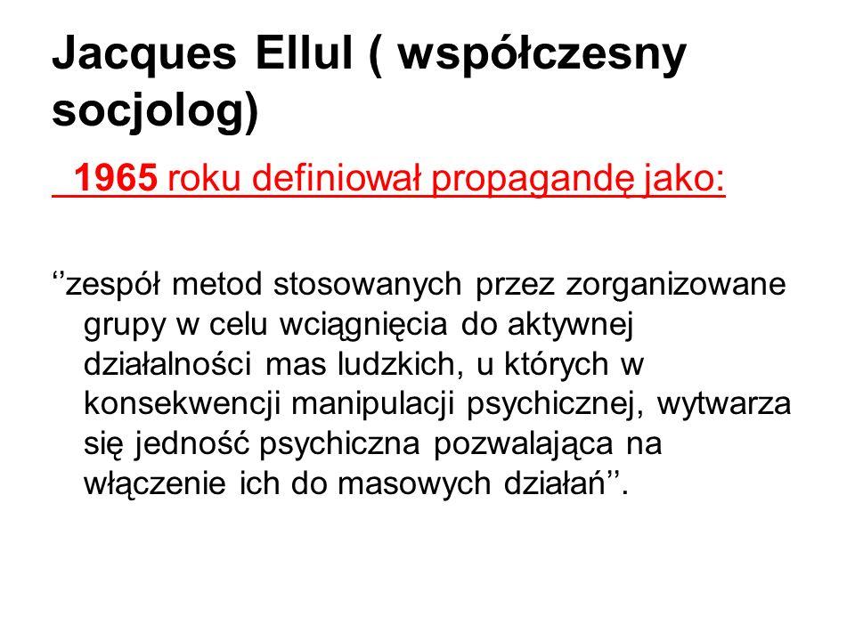Jacques Ellul ( współczesny socjolog)