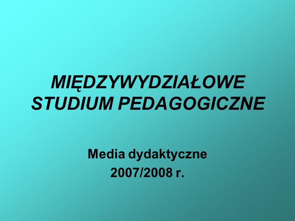 MIĘDZYWYDZIAŁOWE STUDIUM PEDAGOGICZNE