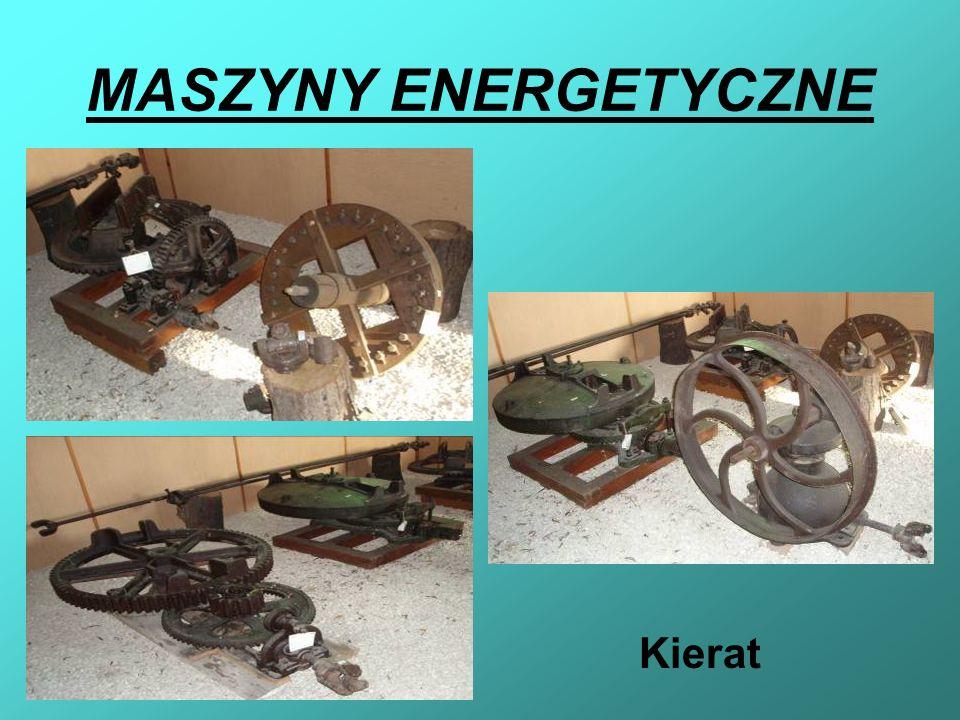 MASZYNY ENERGETYCZNE Kierat