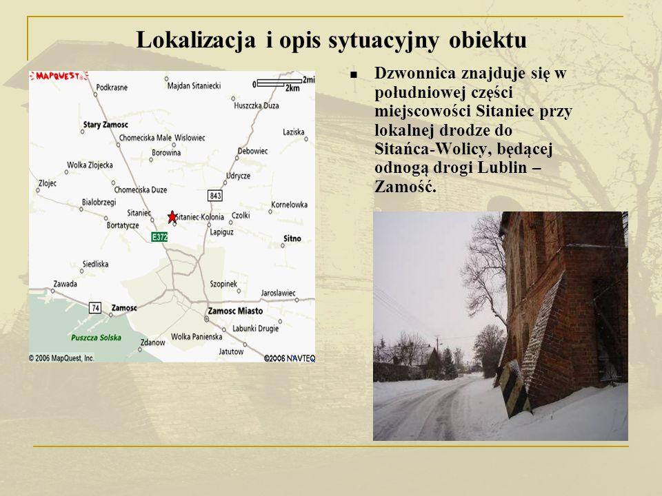 Lokalizacja i opis sytuacyjny obiektu