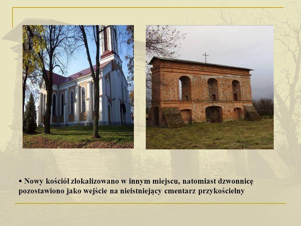 Do 1915 r. pełnił rolę cmentarza przykościelnego