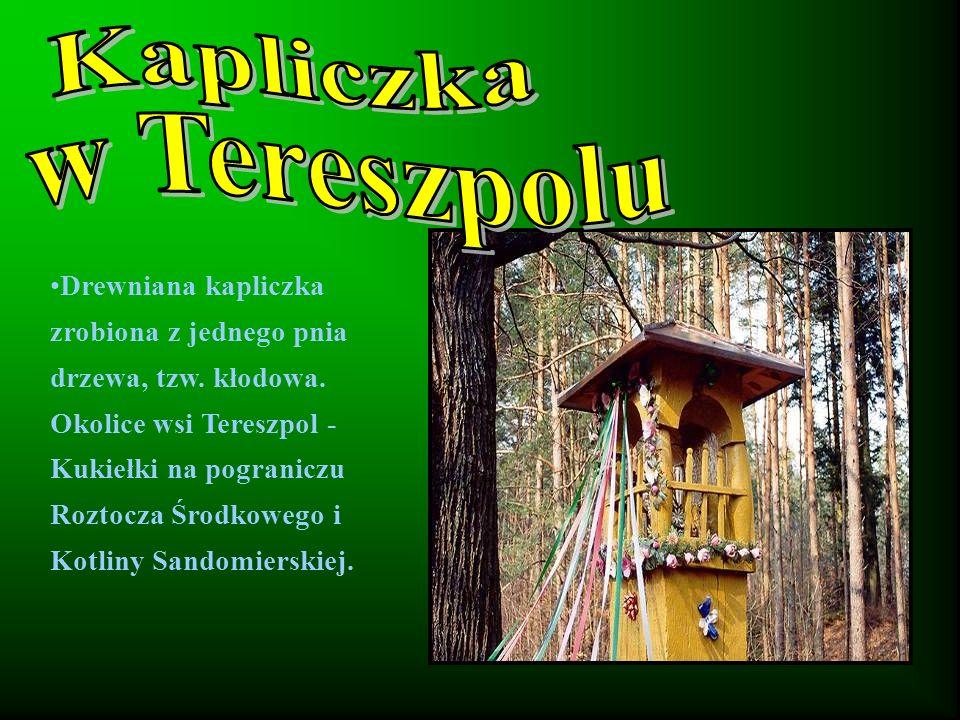 Kapliczka w Tereszpolu
