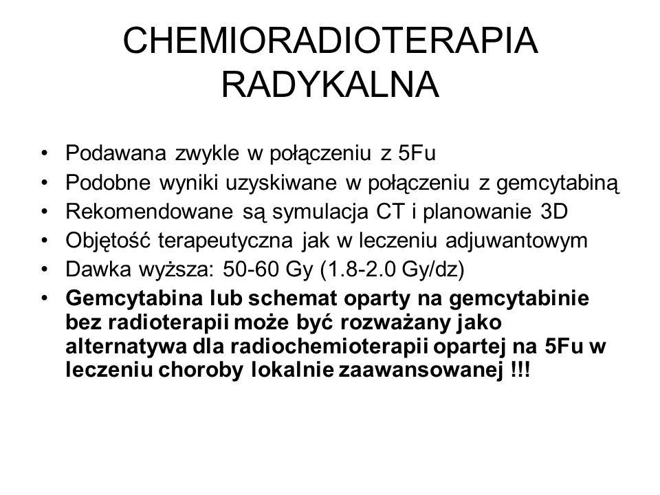 CHEMIORADIOTERAPIA RADYKALNA