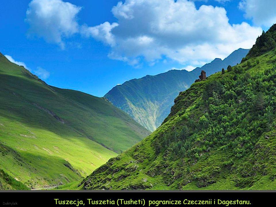 Tuszecja, Tuszetia (Tusheti) pogranicze Czeczenii i Dagestanu.