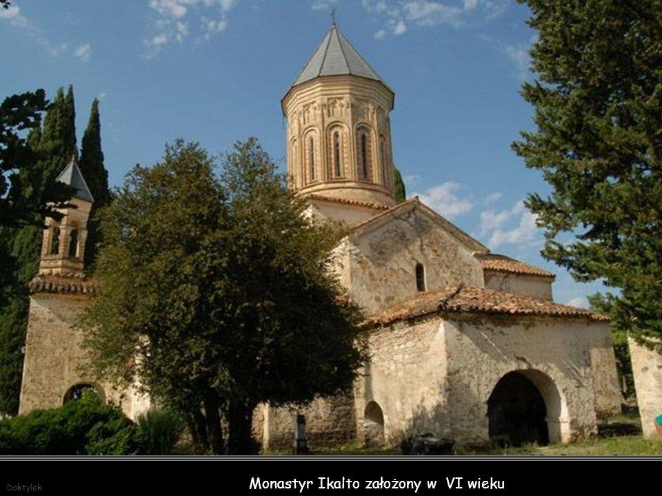Monastyr Ikalto założony w VI wieku