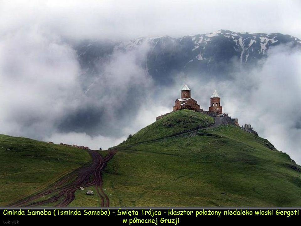 Cminda Sameba (gruz.: წმინდა სამება - Święta Trójca) - klasztor położony niedaleko wioski Gergeti w północnej Gruzji, w pobliżu miasteczka Stepancminda (dawniej Kazbegi). Kościół jest położony na wzgórzu, na wysokości 2170 m n.p.m., na lewym brzegu rzeki Terek, nad klasztorem góruje szczyt Kazbek.