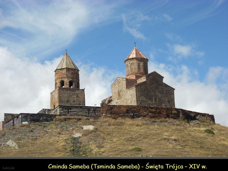 Cminda Sameba (Tsminda Sameba) - Święta Trójca – XIV w.