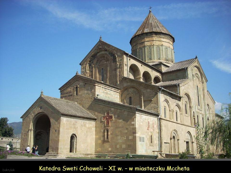 Katedra Sweti Cchoweli – XI w. – w miasteczku Mccheta