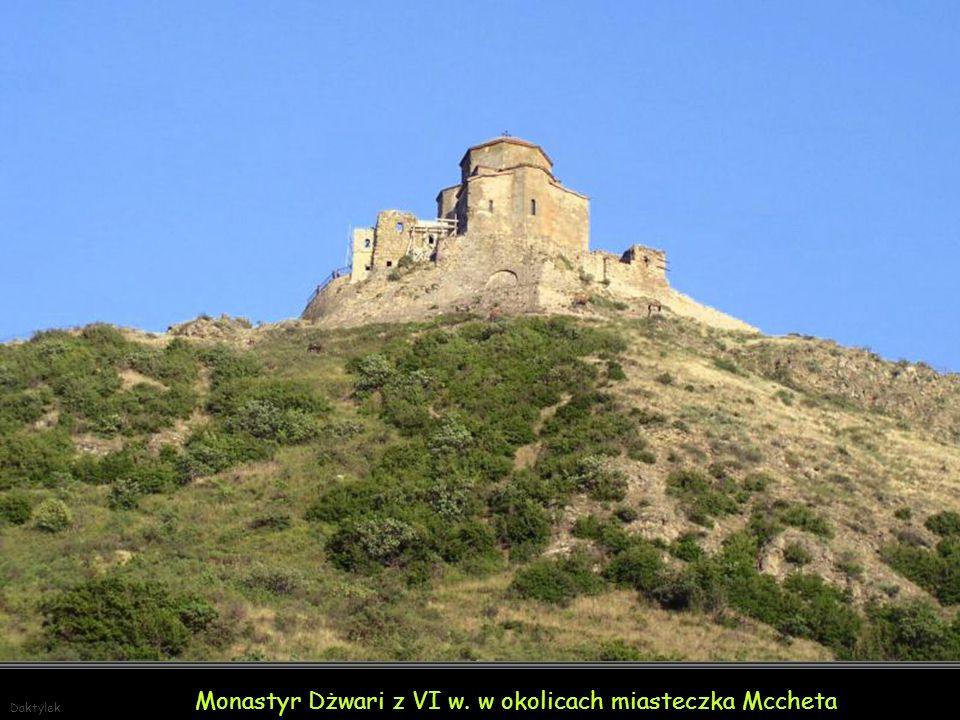 Monastyr Dżwari z VI w. w okolicach miasteczka Mccheta