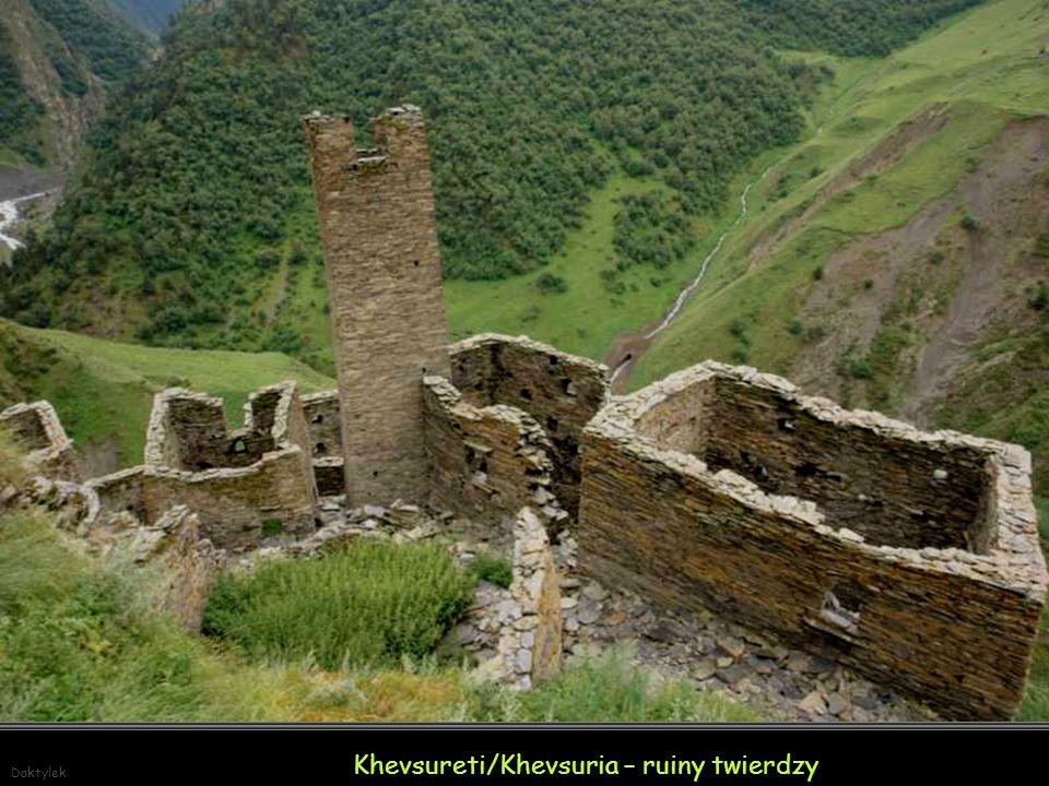 Khevsureti/Khevsuria – ruiny twierdzy