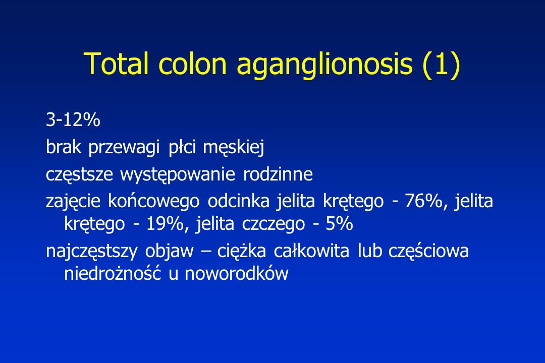 Total colon aganglionosis (1)